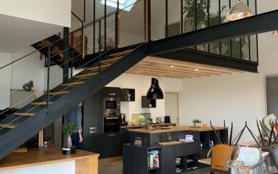 Une Maison d'architecte moderne sur Savenay